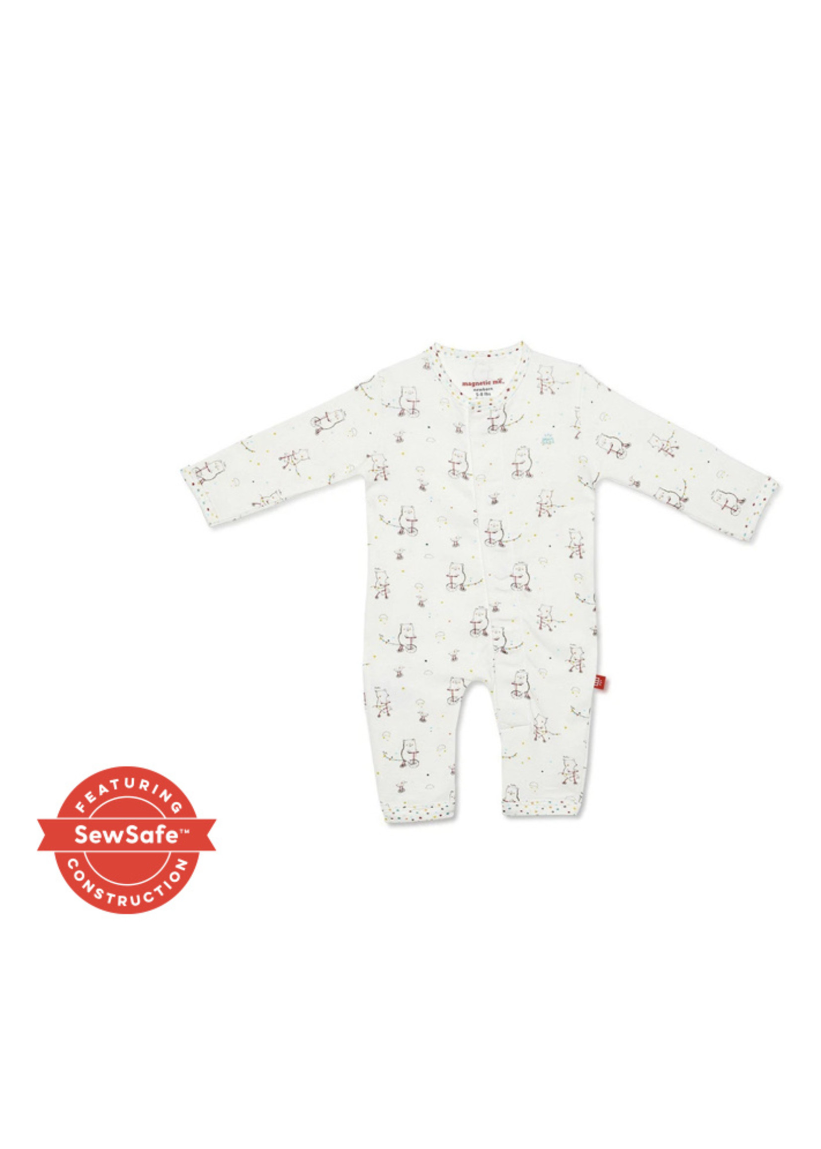 magnetic me Welcome Baby Coverall