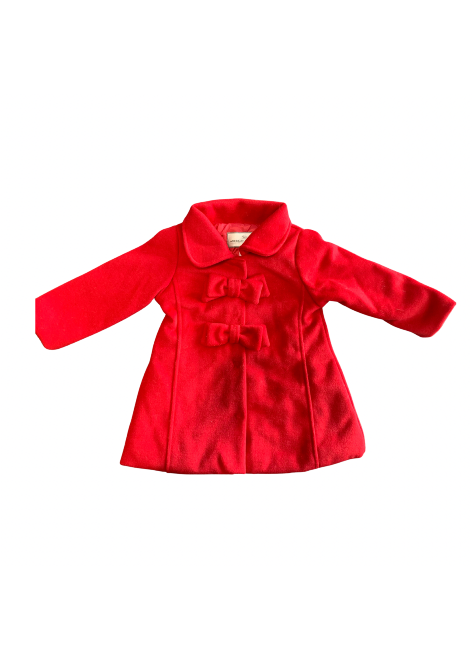 Bow Coat Red