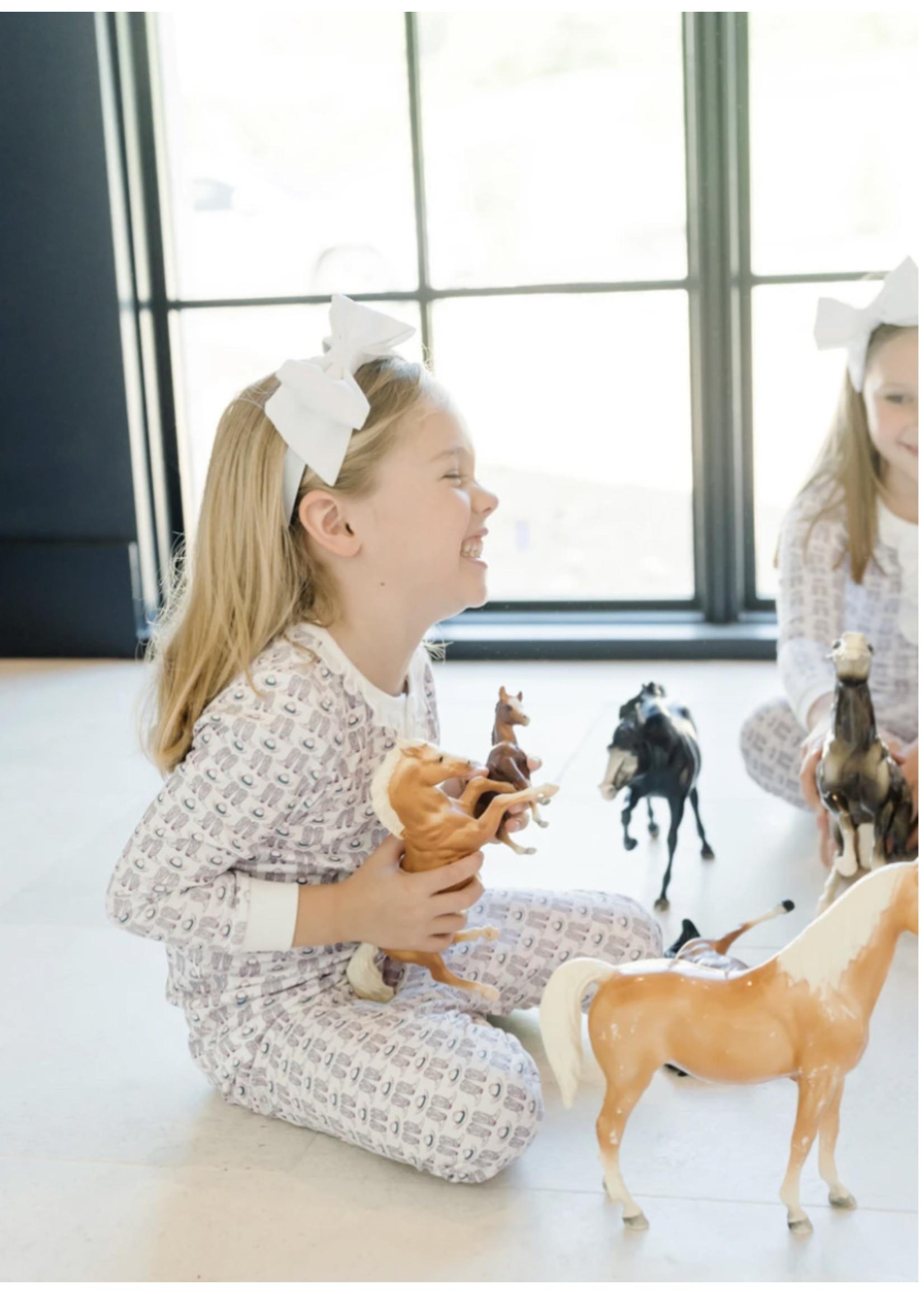 Lila & Hayes Alden PJ Set Cowgirl Up