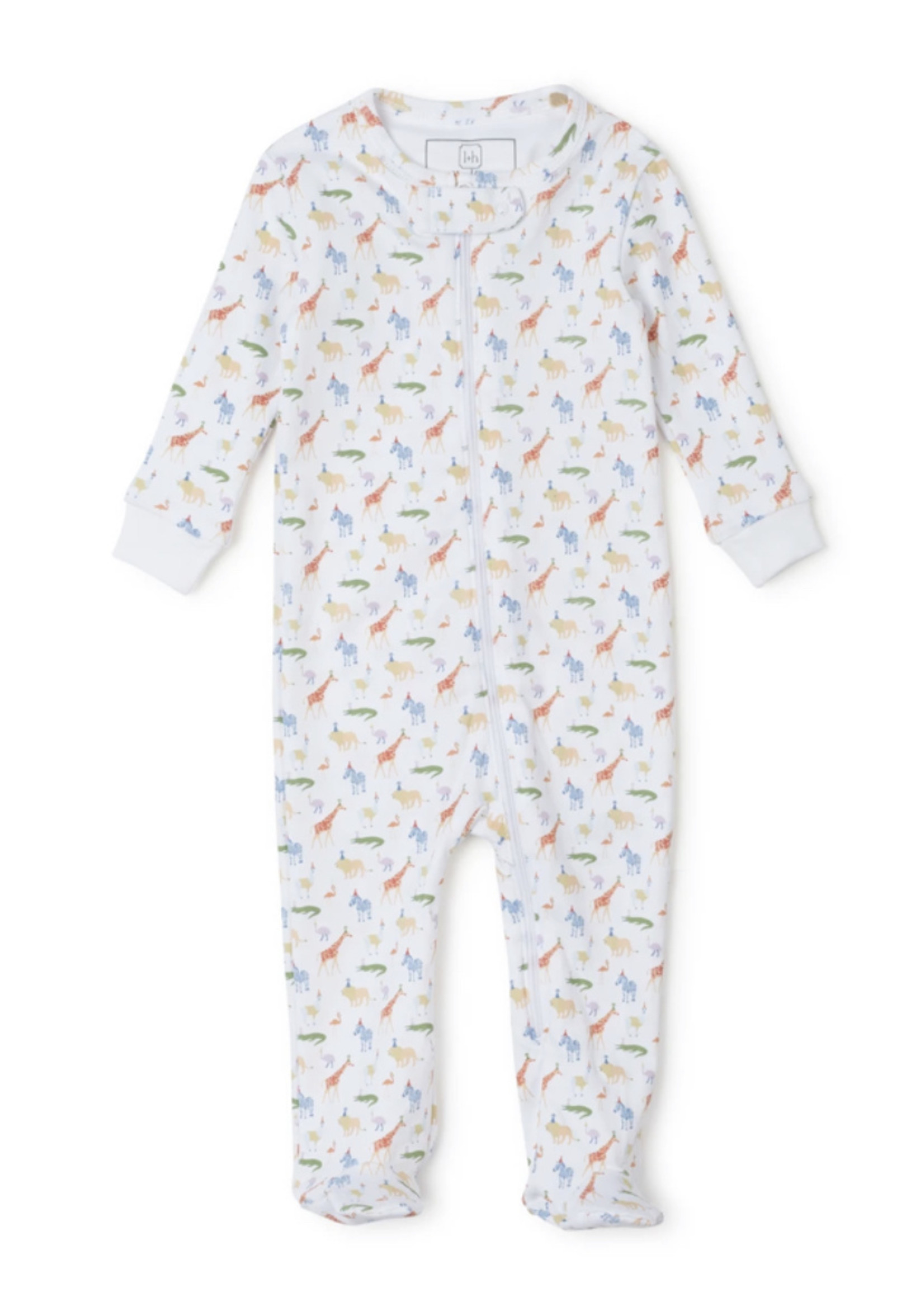 Lila & Hayes Parker Zipper Party Animals