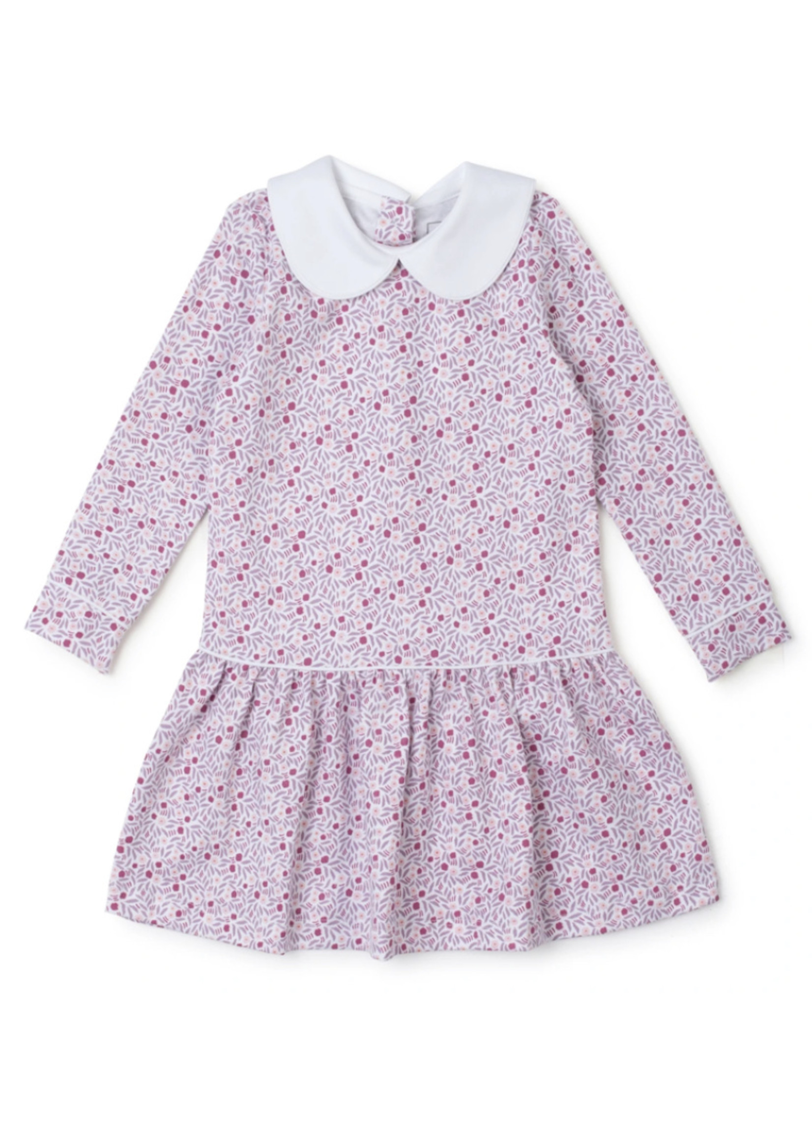 Lila & Hayes Lillian Dress Berry Floral
