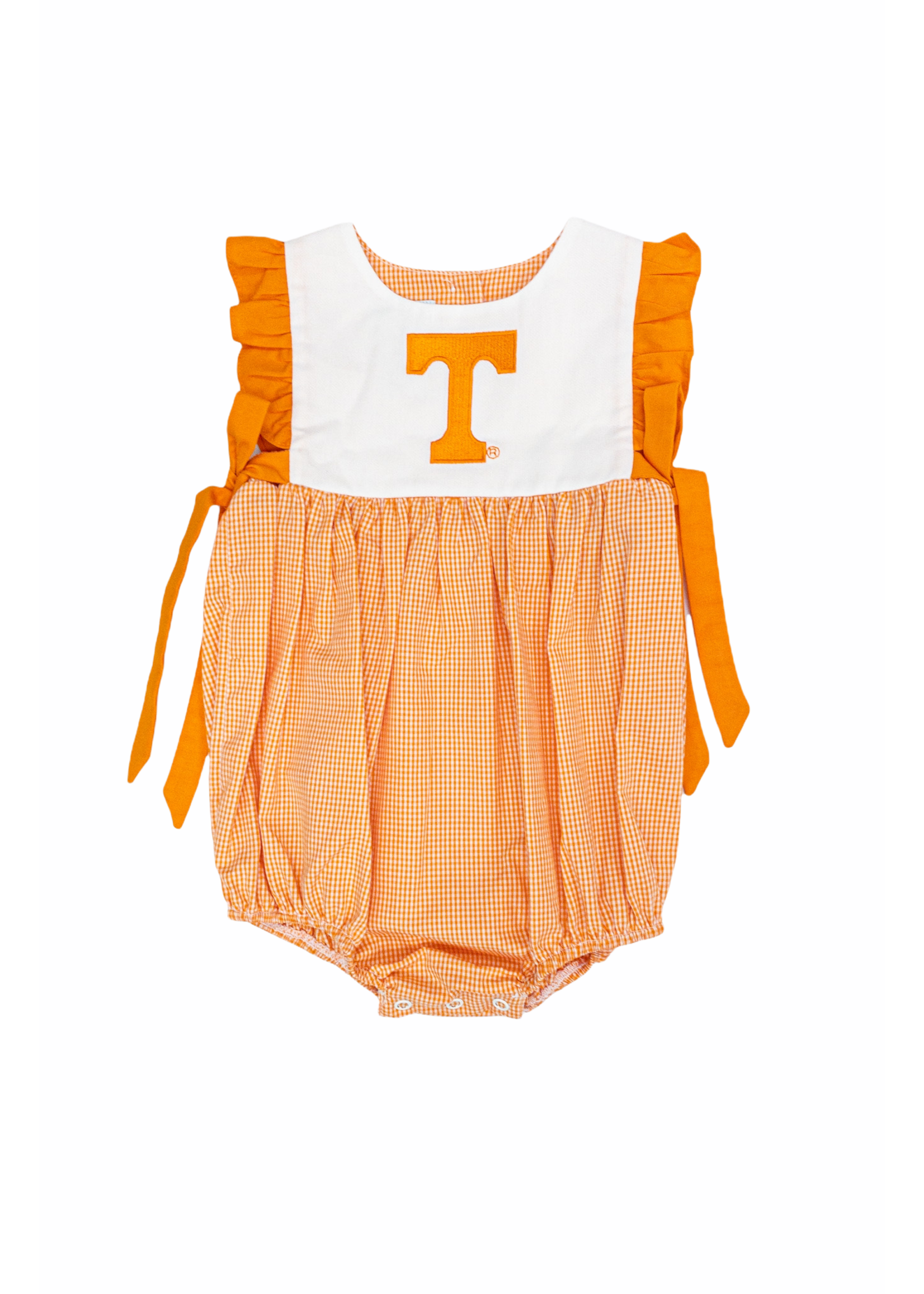 VIVE LA FETTE Tennessee Embroidered Gingham Bubble