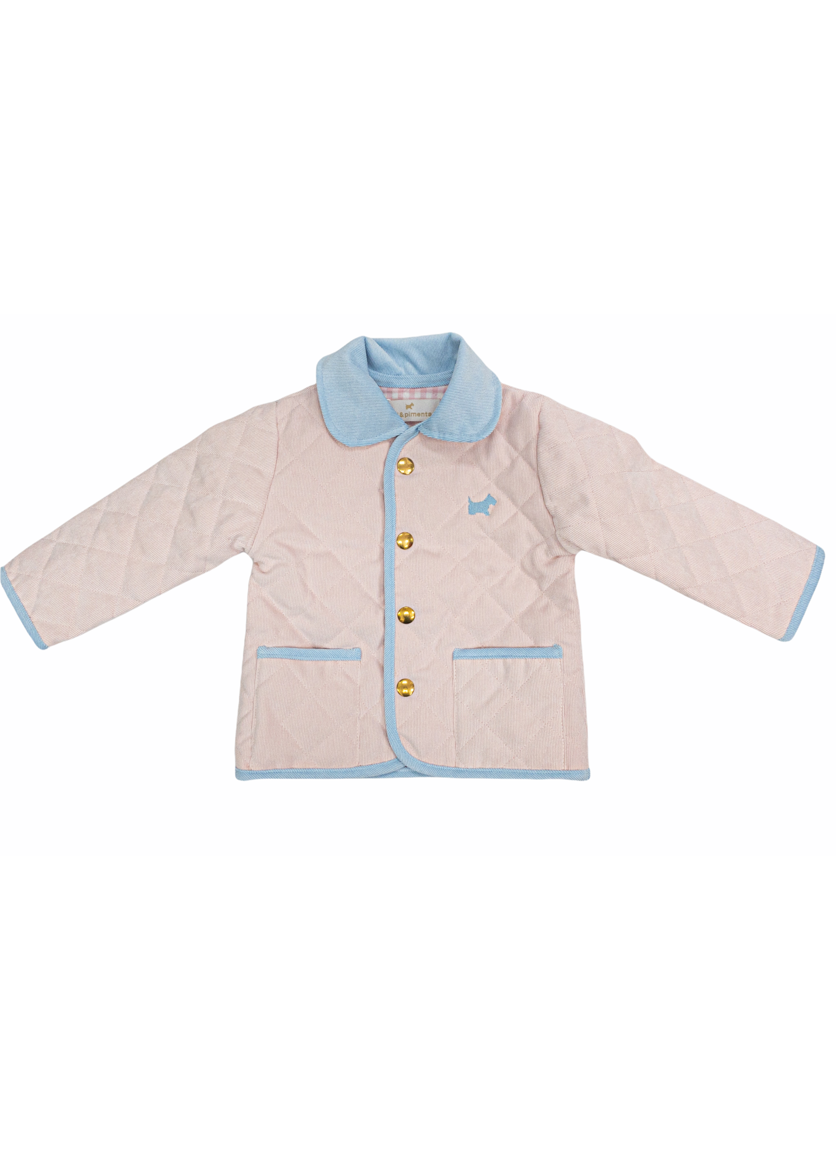 Sal and Pimenta Pink Quilted Jacket