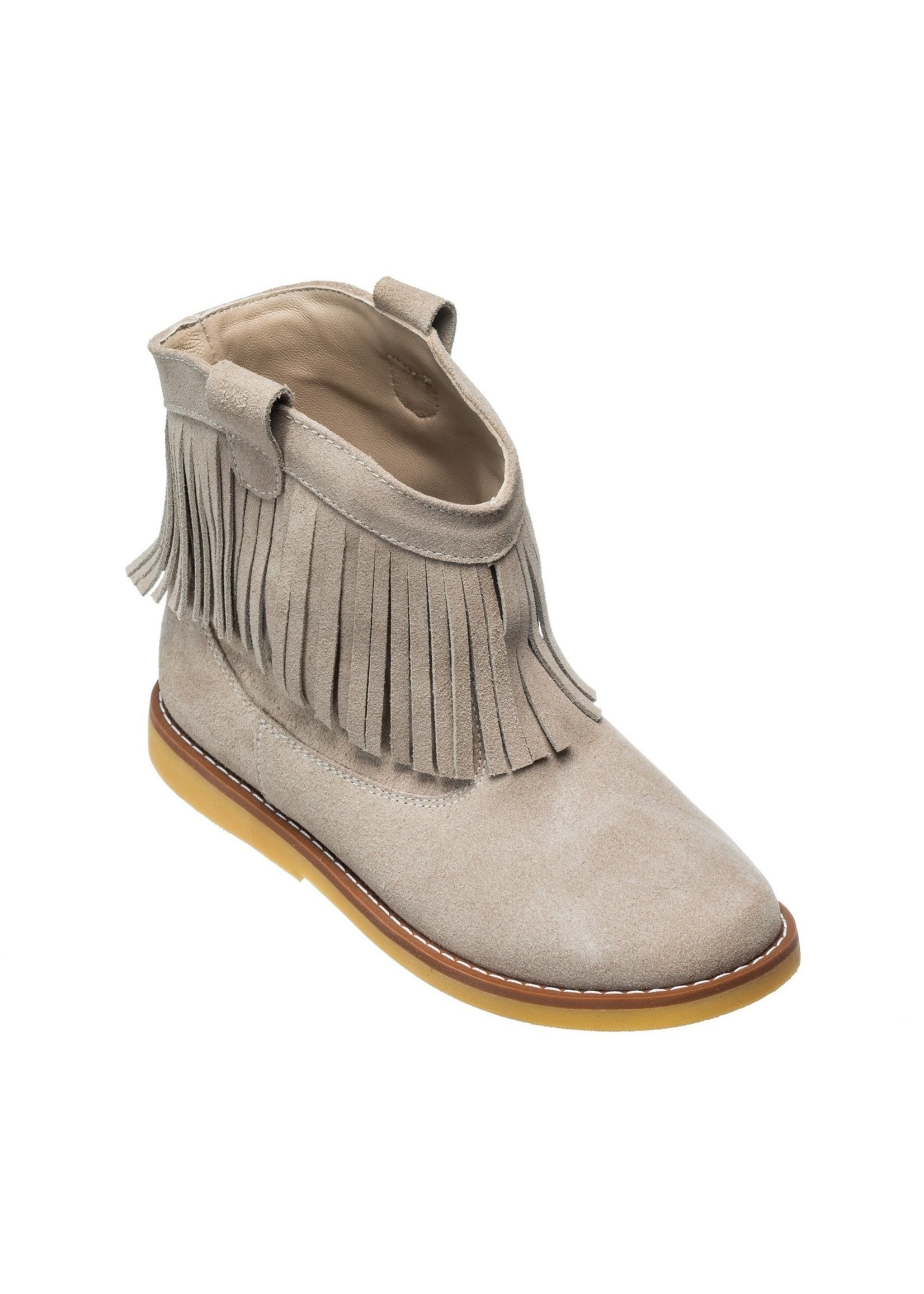Elephantito Bootie w/ Fringes Suede Sand