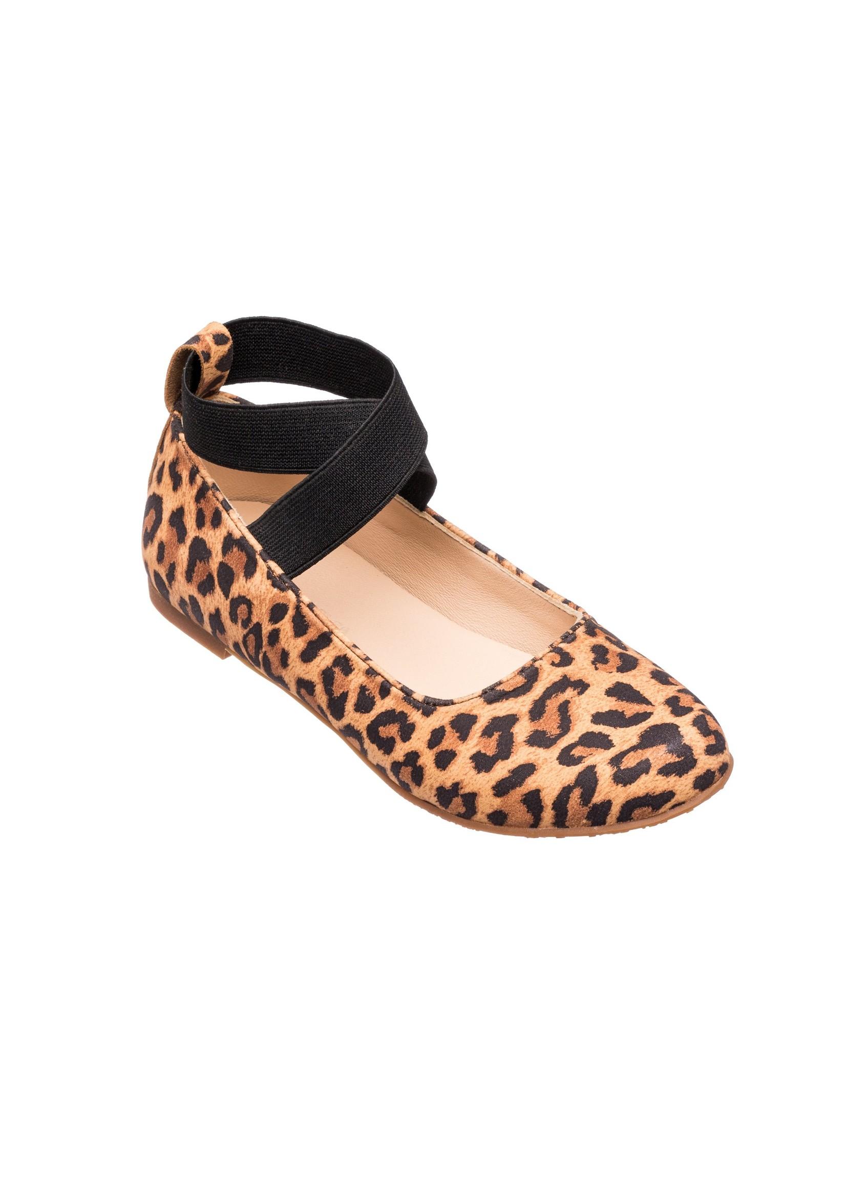 Elephantito Melissa Flat Suede Leopard