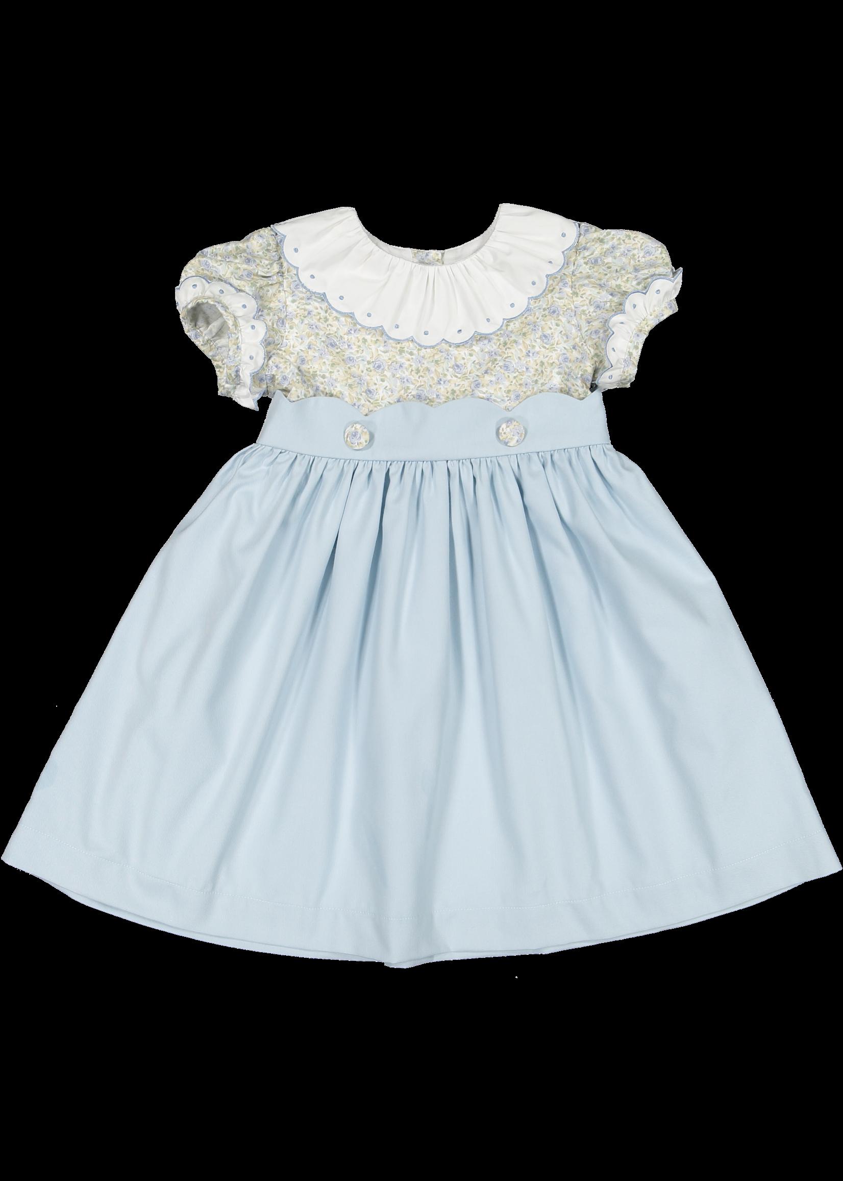 Sal and Pimenta Wonderland Blue Dress