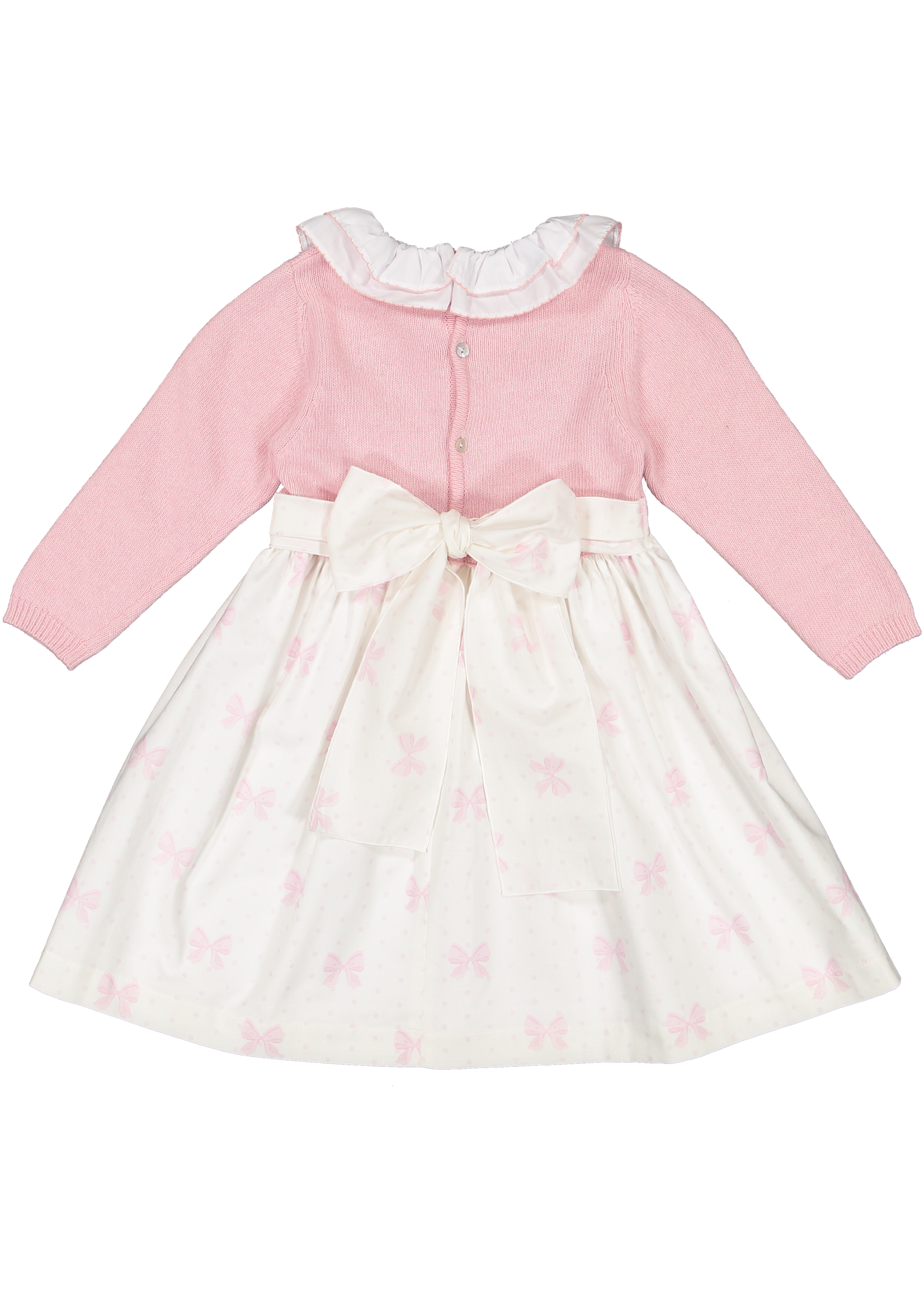 Sal and Pimenta Pink Bow Dress