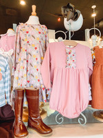 Natalie Grant Pumpkin Print Twirl Dress