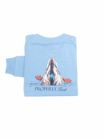 Properly Tied Diving Mallard Long Sleeve Shirt