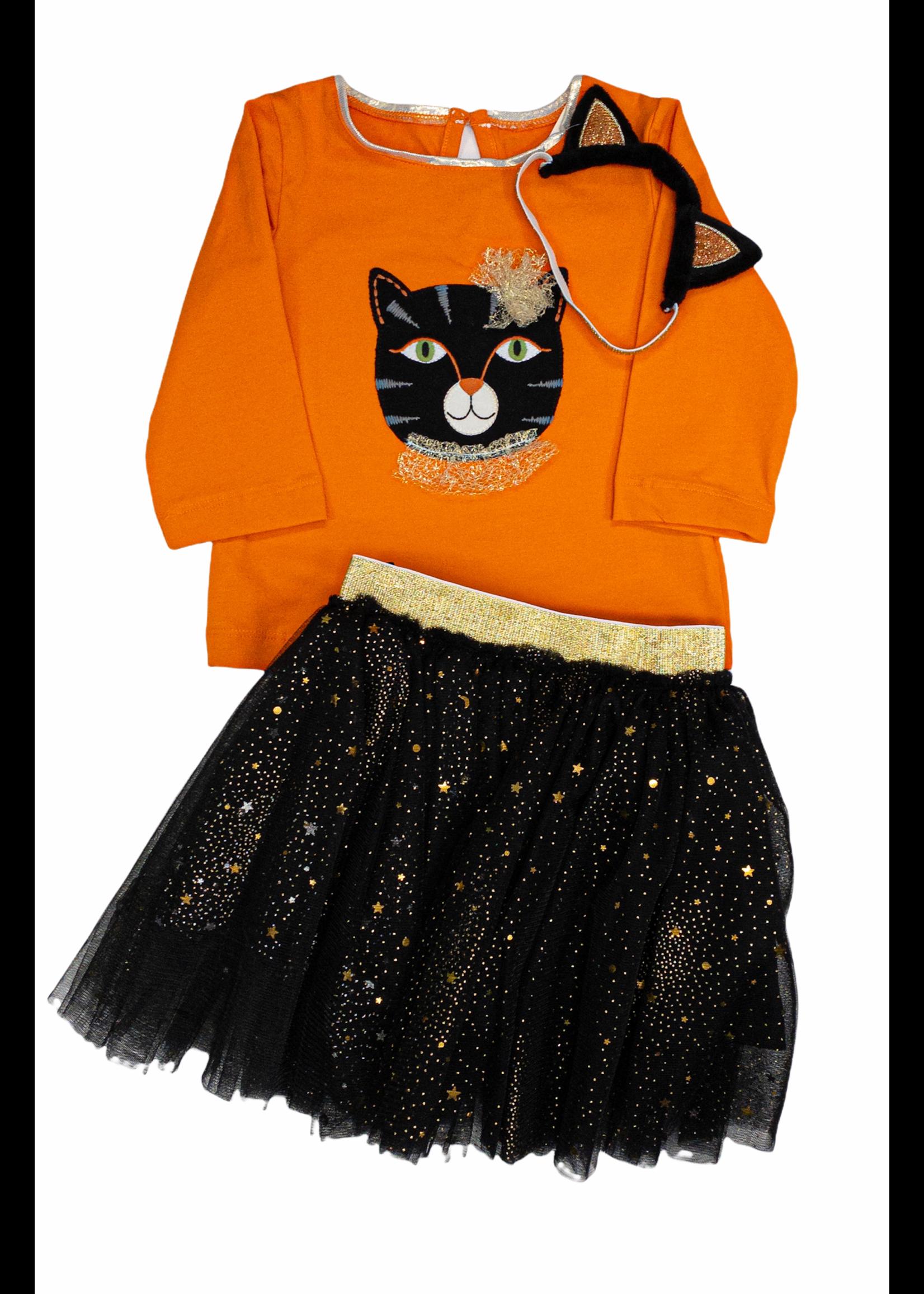 Mon Ami Purrfect Halloween 3pc Tutu Set