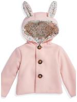 Bella Bliss Pink Bunny Coat