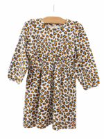 Pink Chicken Leopard  Organic Hadley Dress