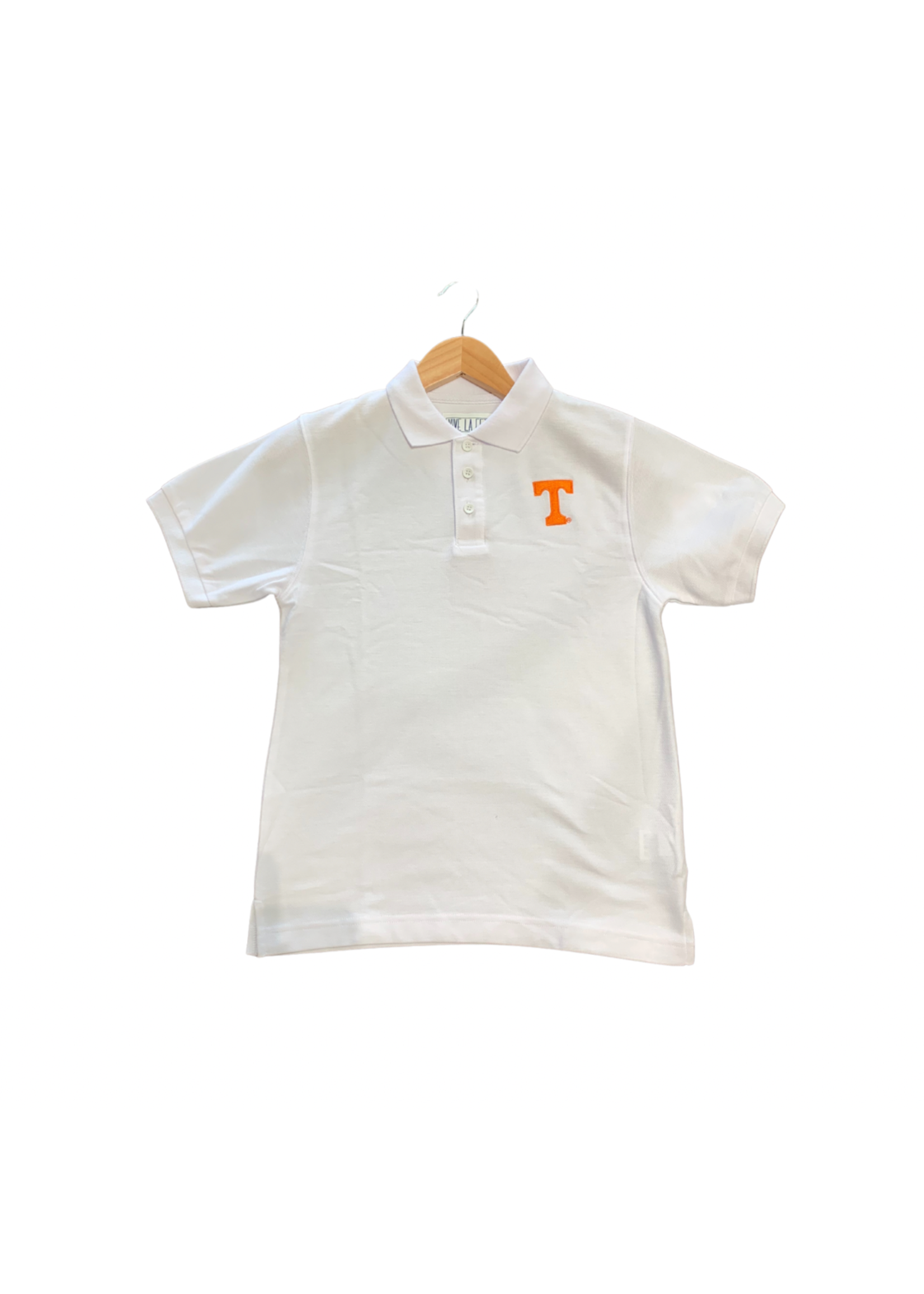 vive la fete Tennessee Embroidered T Short Sleeve Polo