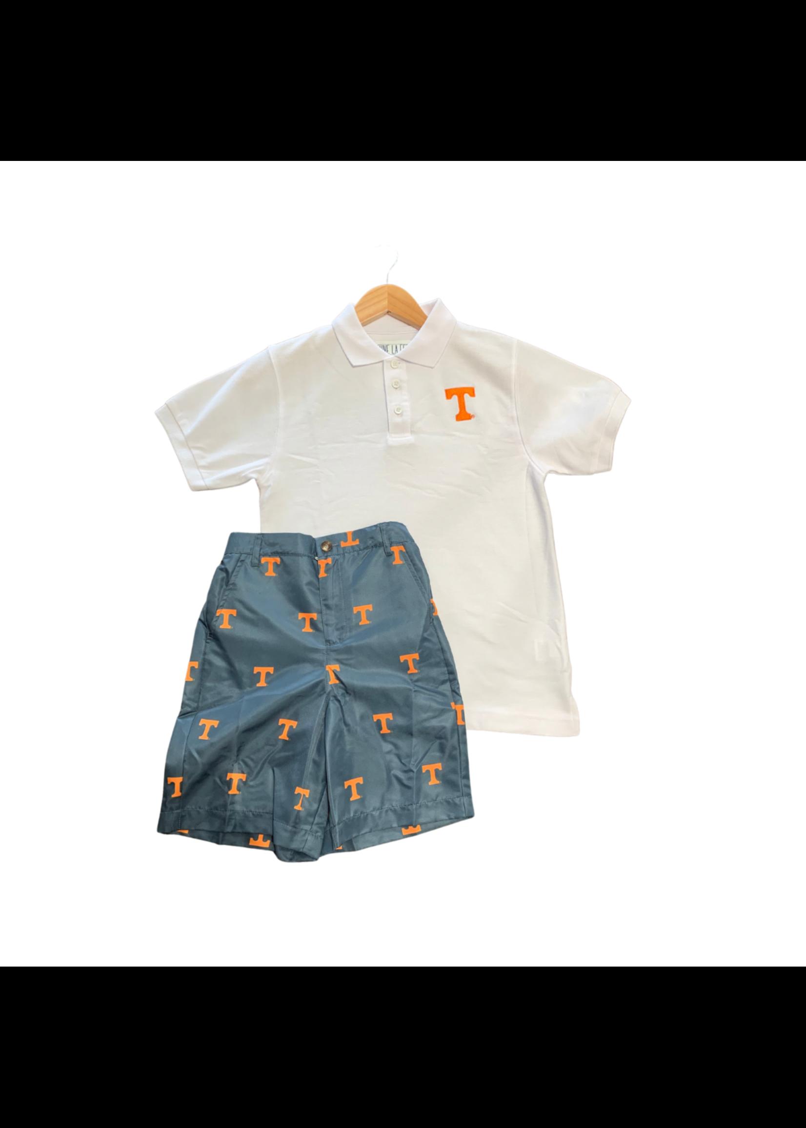 vive la fete Tennessee T Gray Shorts