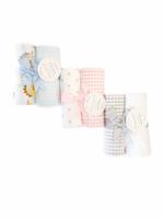 3 Marthas 2 Burp Cloth Set