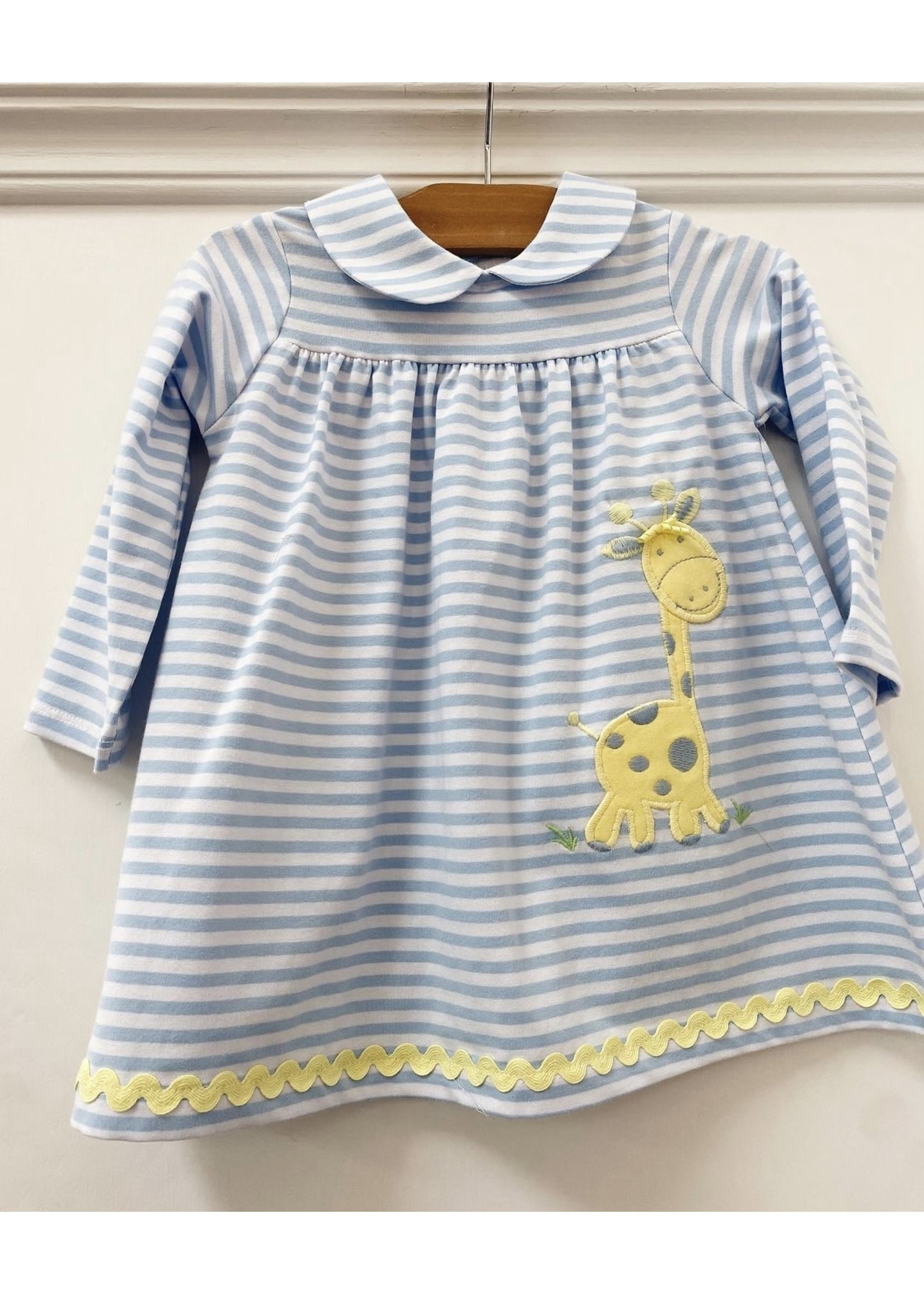 Bailey Boys Gentle Giraffe Knit Dress w/ collar