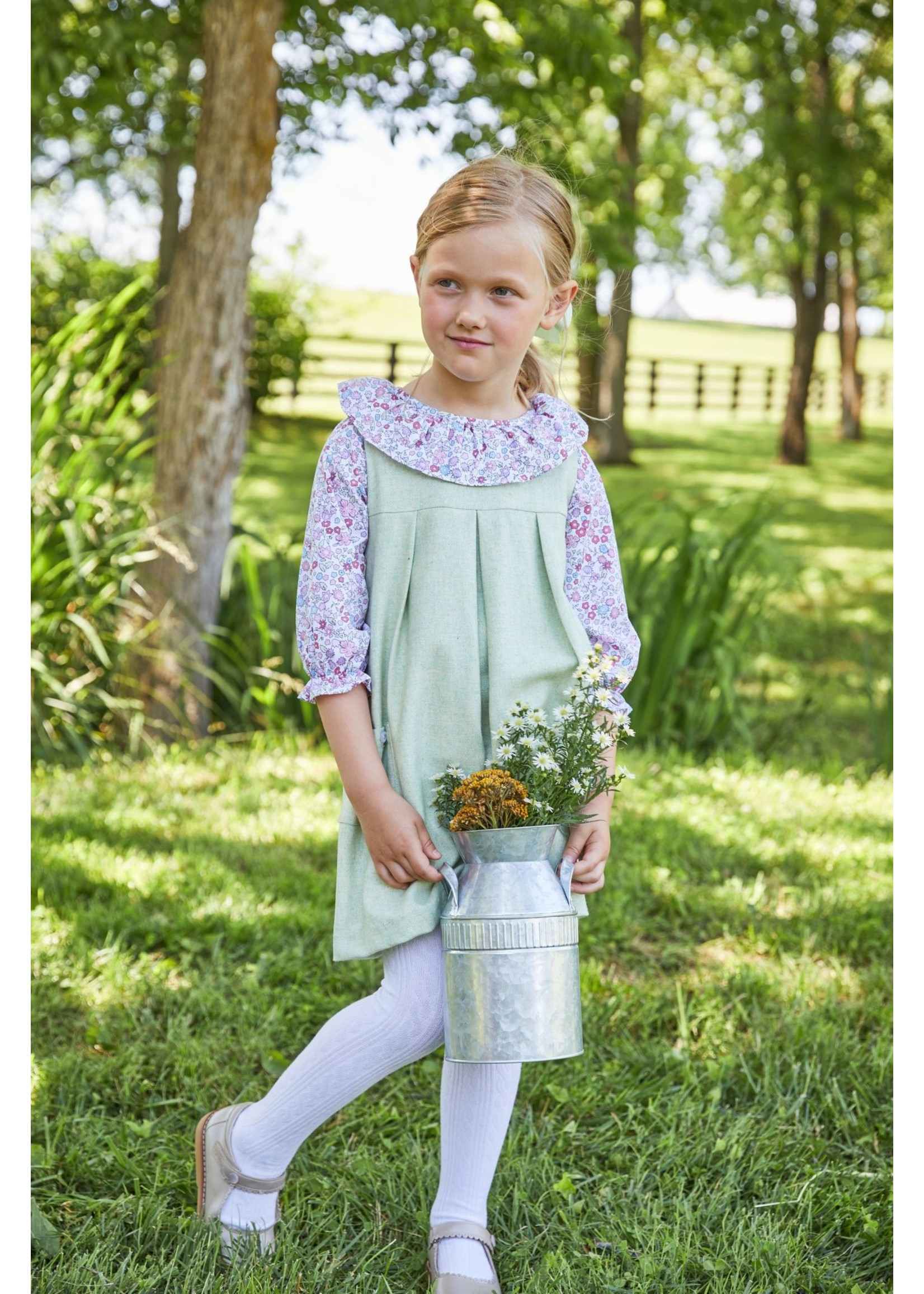 Little English Charleston Jumper - Meadow Wool