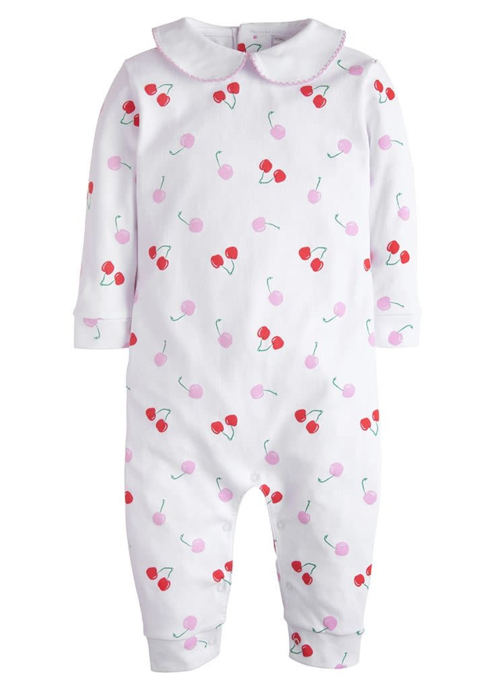 Little English Cherry Printed Playsuit