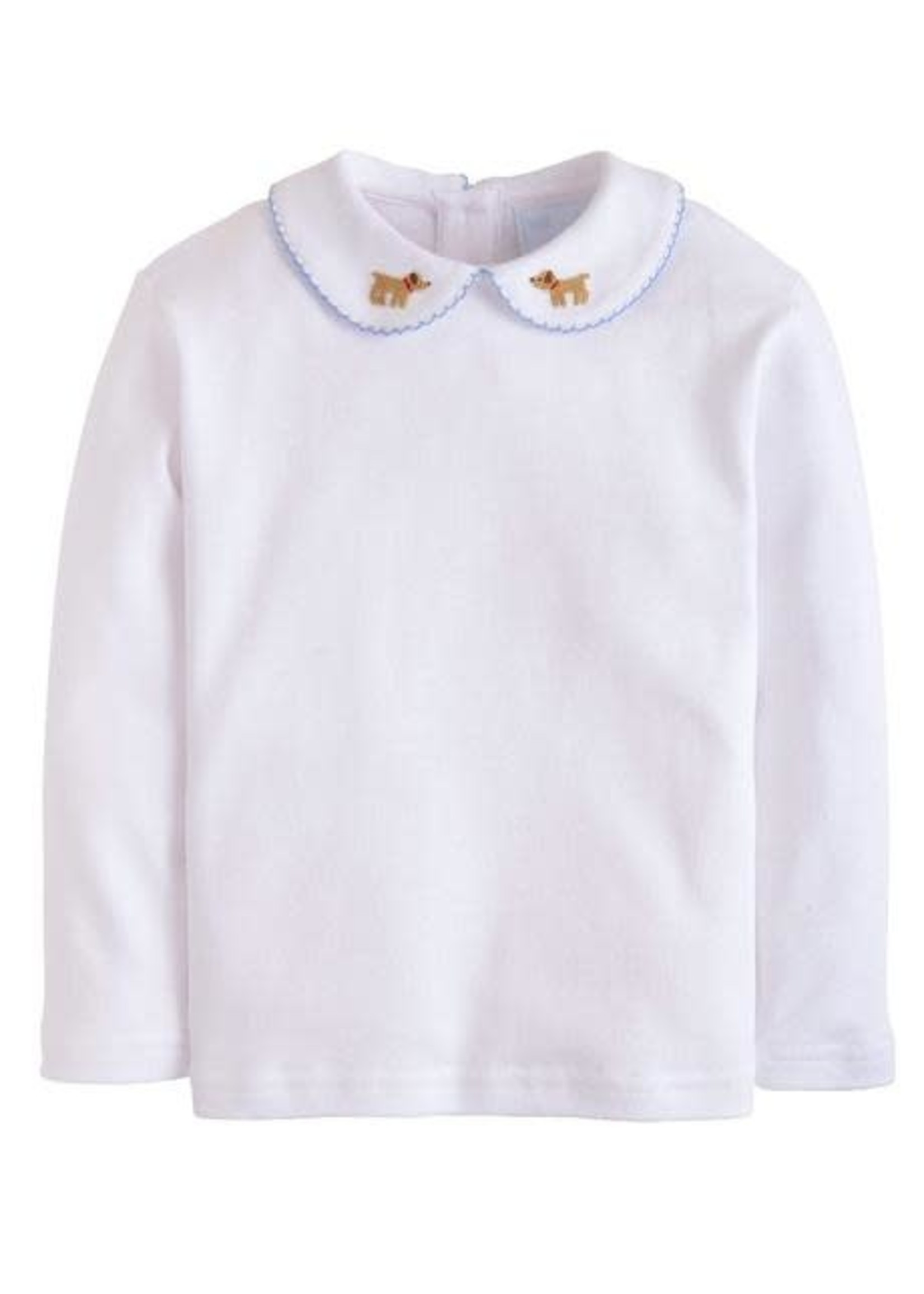 Little English Long Sleeve Pinpoint Shirt - Lab
