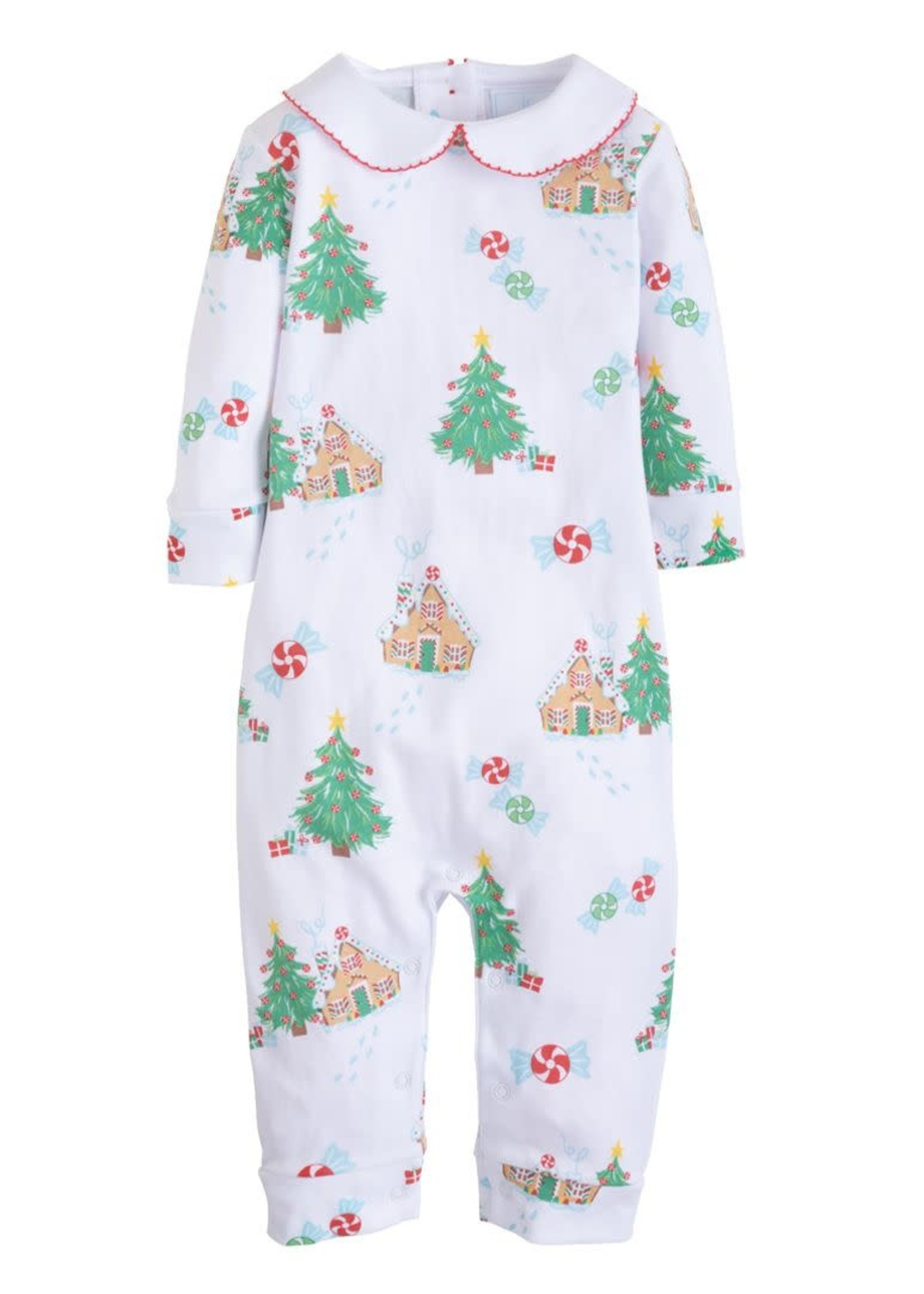 Little English Gingerbread Printed Playsuit
