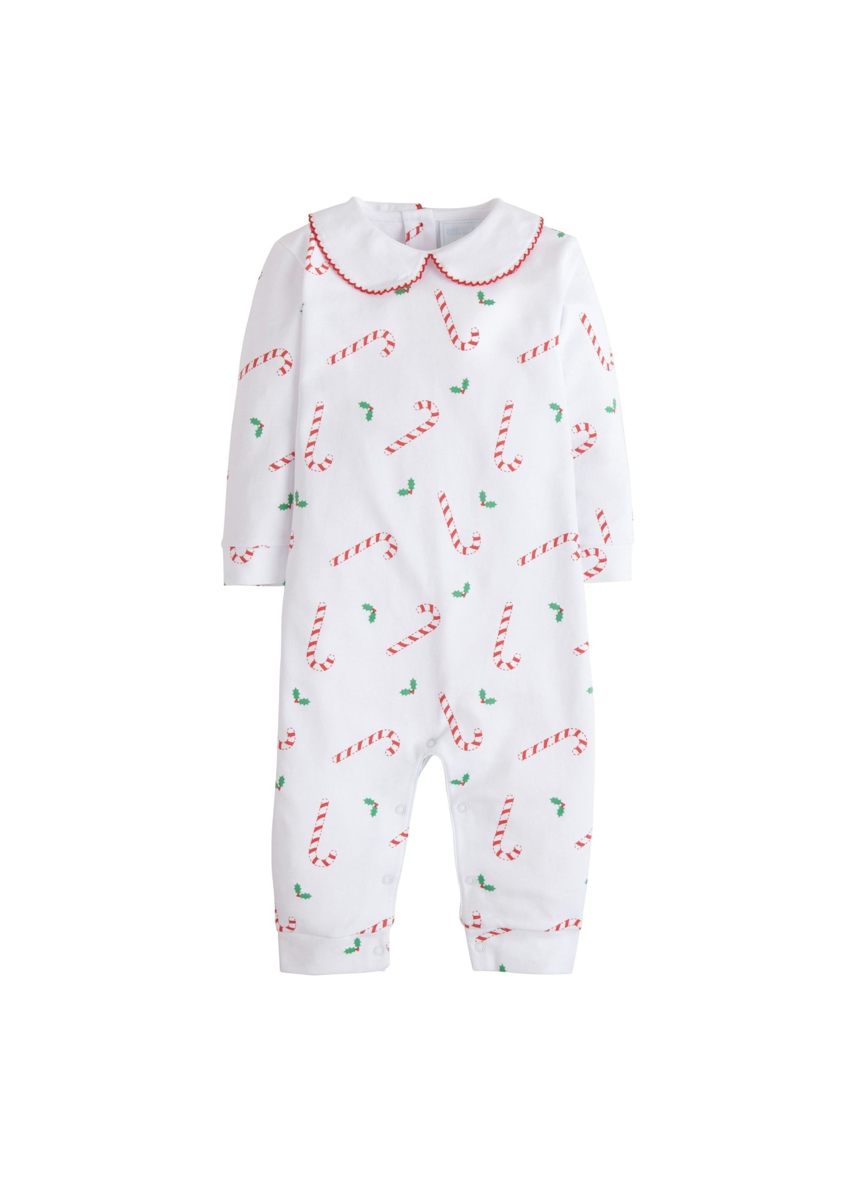 Little English Candy Cane Lane Printed Playsuit