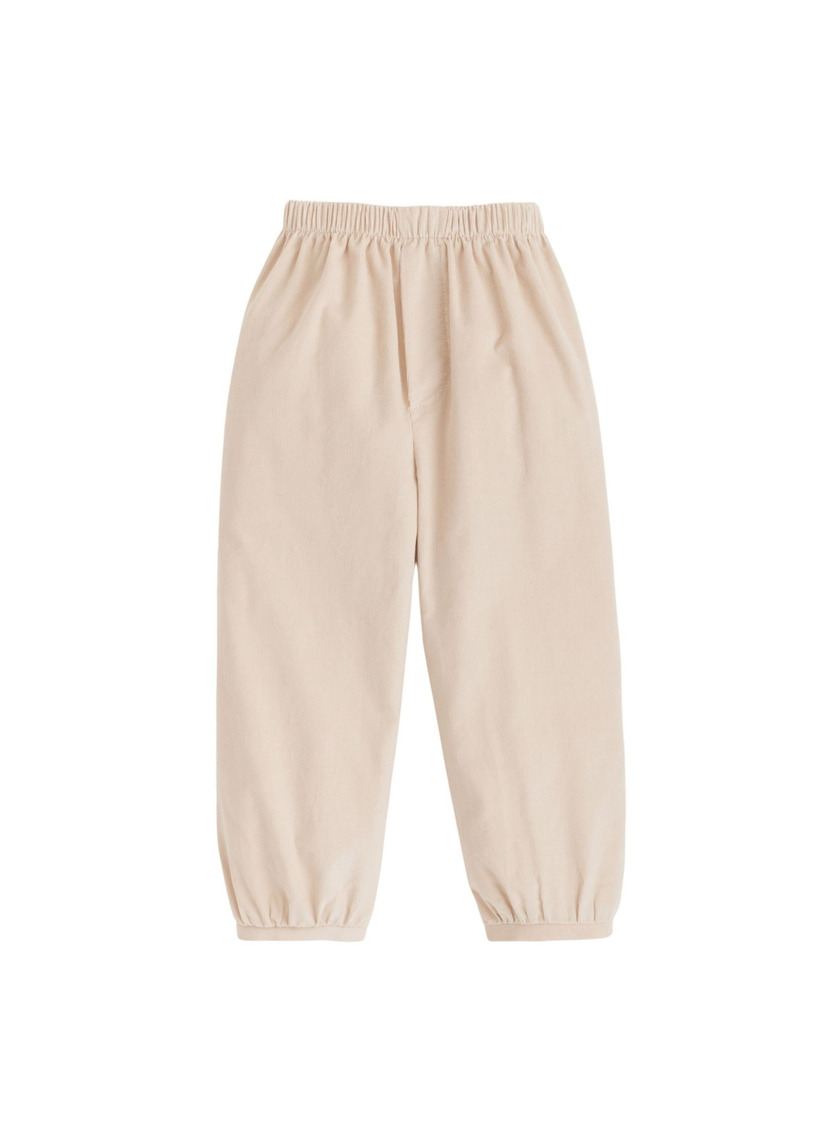 Little English Banded Pull on Pant - Tan
