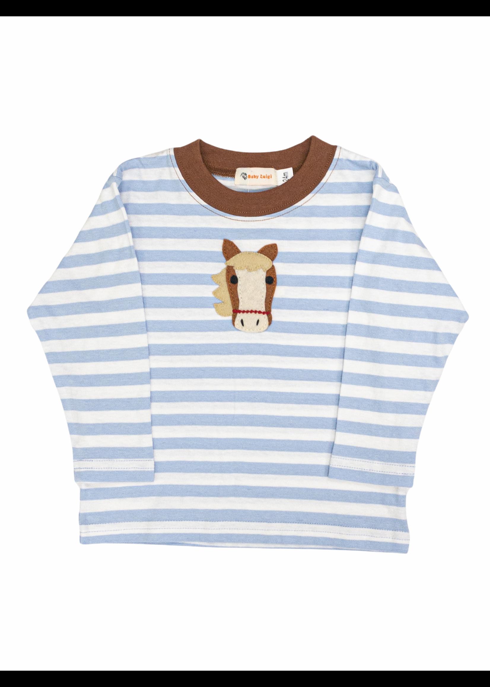 Luigi Horse Head L/S Shirt