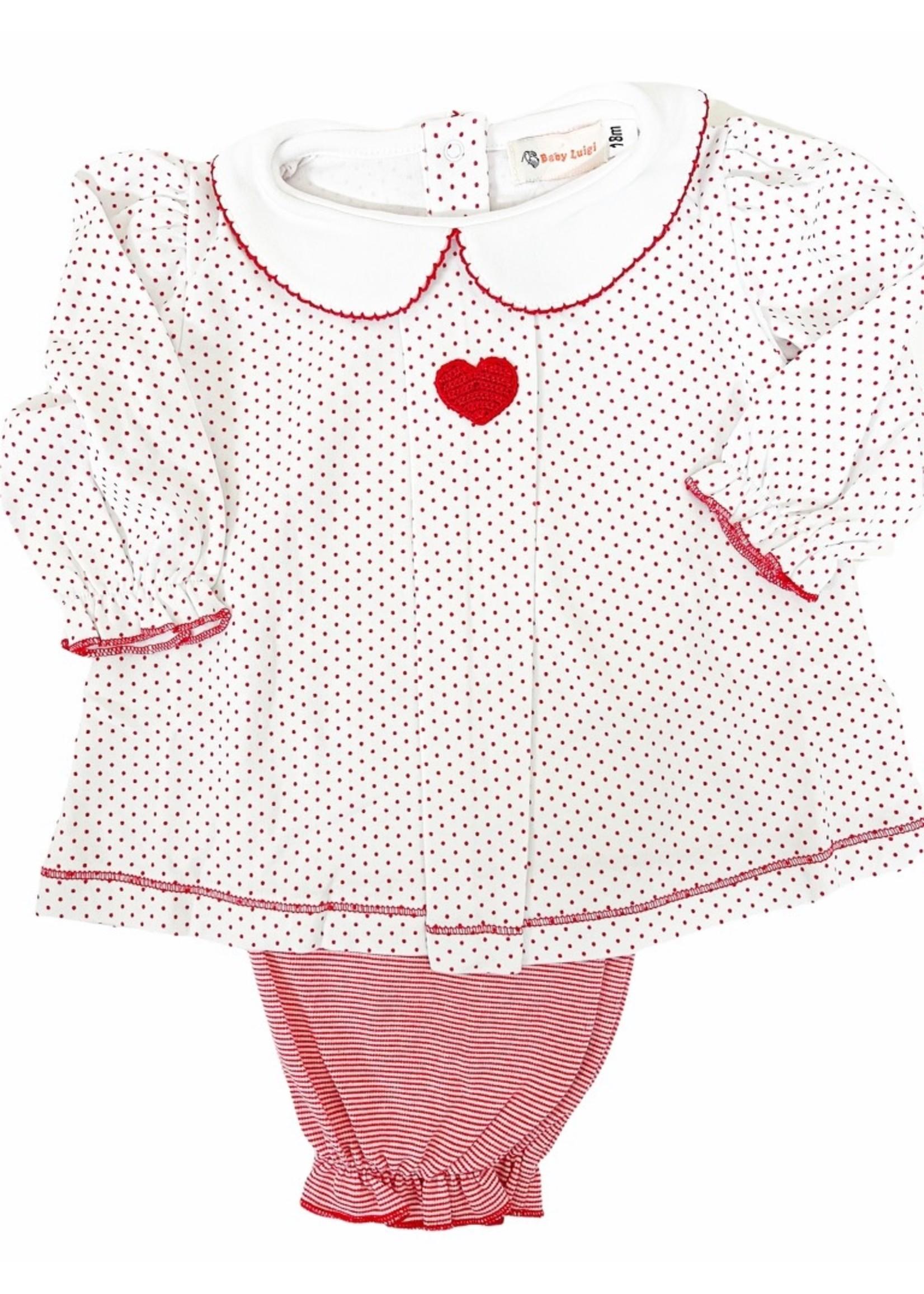 Luigi Crochet Red Heart 2 Pc.