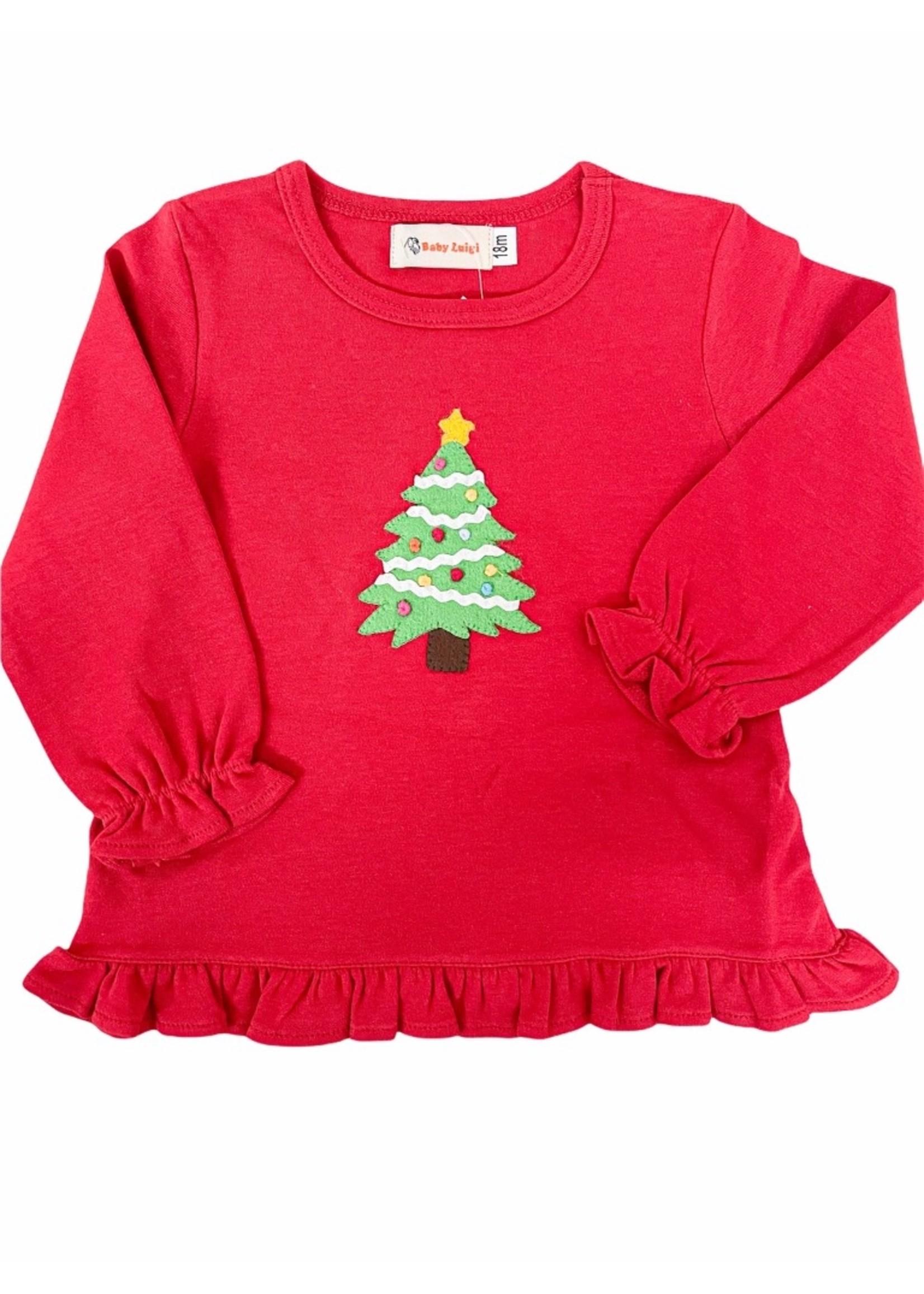 Luigi Christmas Tree Swing Top