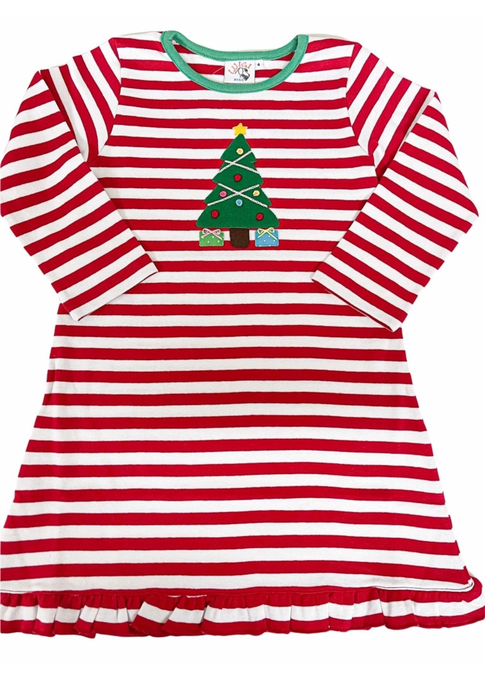 Luigi Aline Christmas Tree Dress