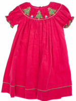 Anavini Hot Pink Corduroy Christmas Tree Bishop