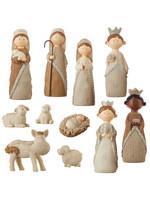 Raz Imports Knit Nativity Set 8.75 inch
