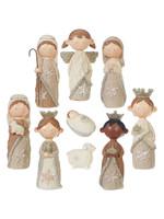 Raz Imports Knit Nativity Set 4.5 inch