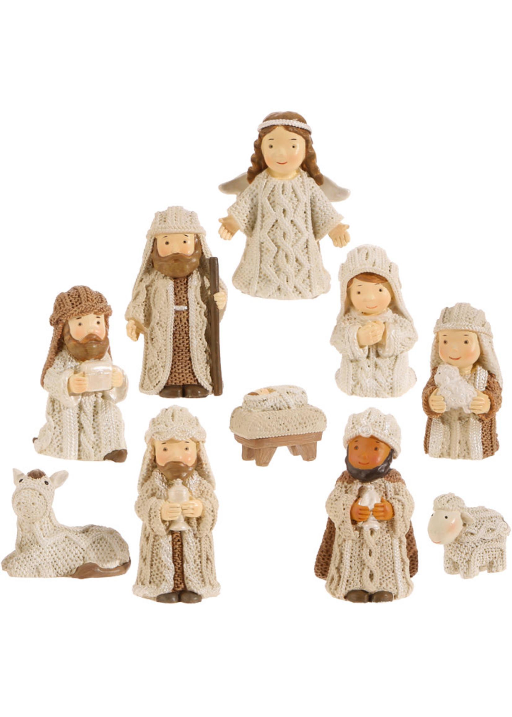 Knit Nativity Set - 2.5 inch