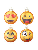 Raz Imports Emoji Ornament