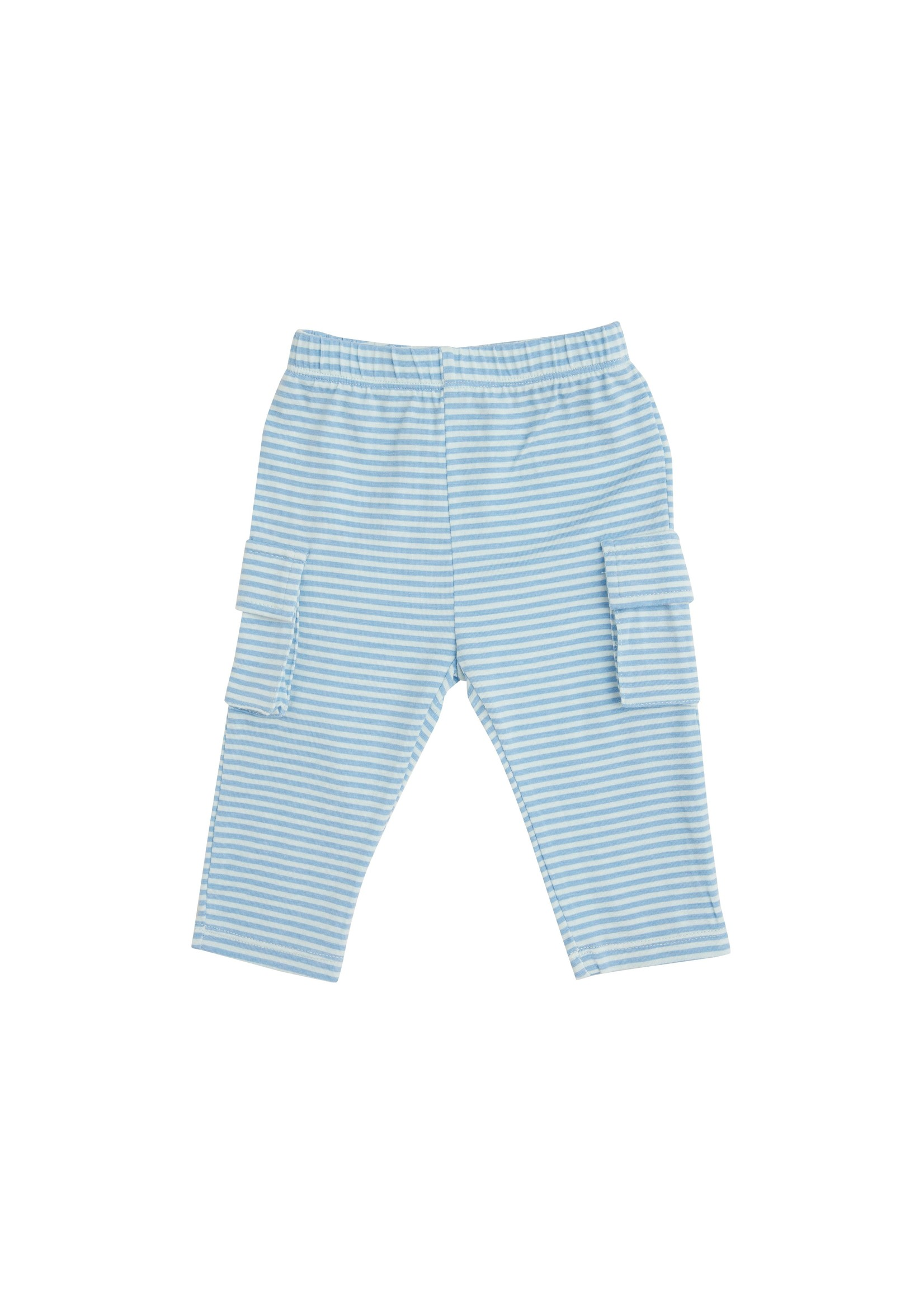Angel Dear Construction Polo Top And Pant Blue