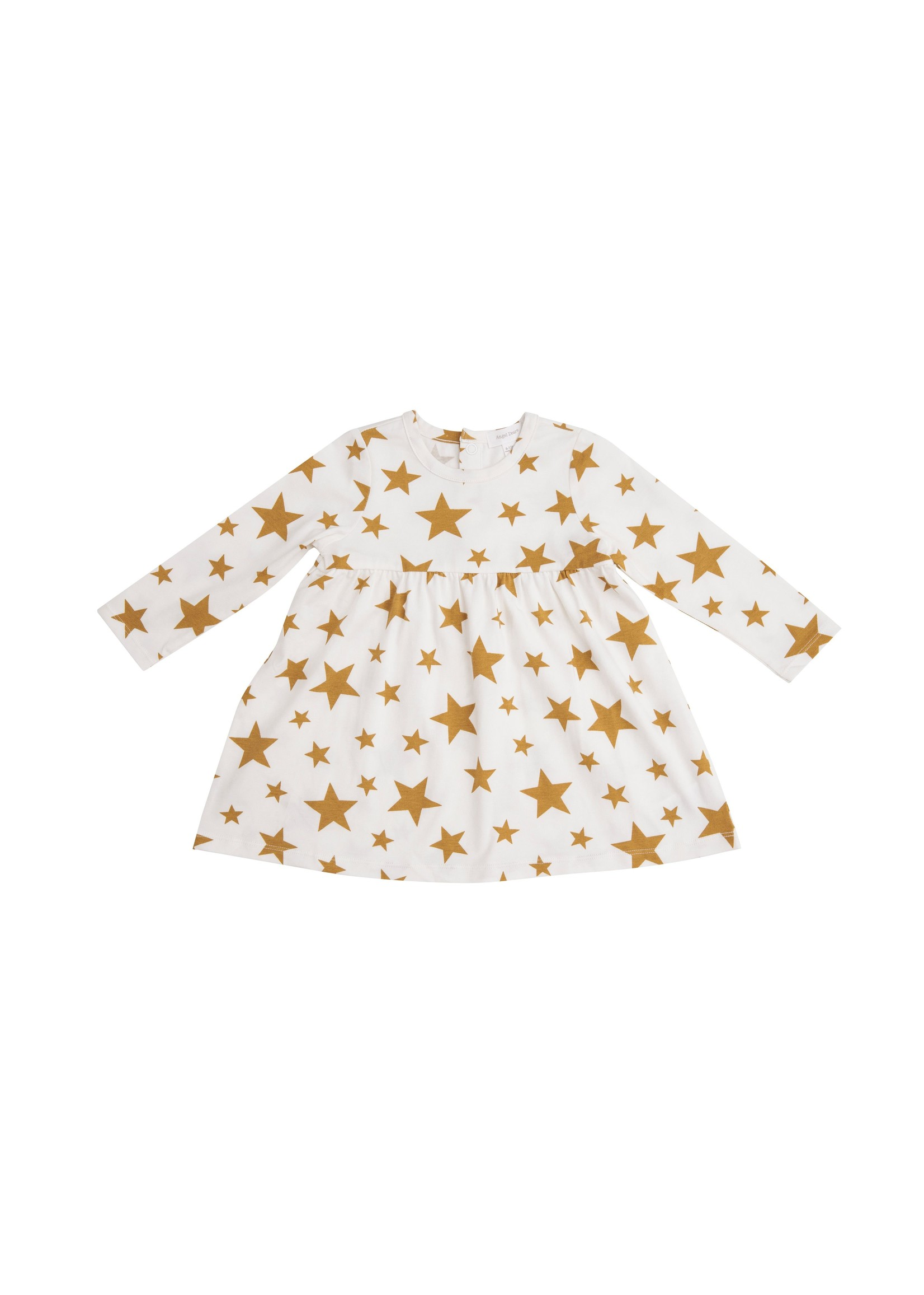 Angel Dear Honey Star Organic  Dress w/ Bloomer