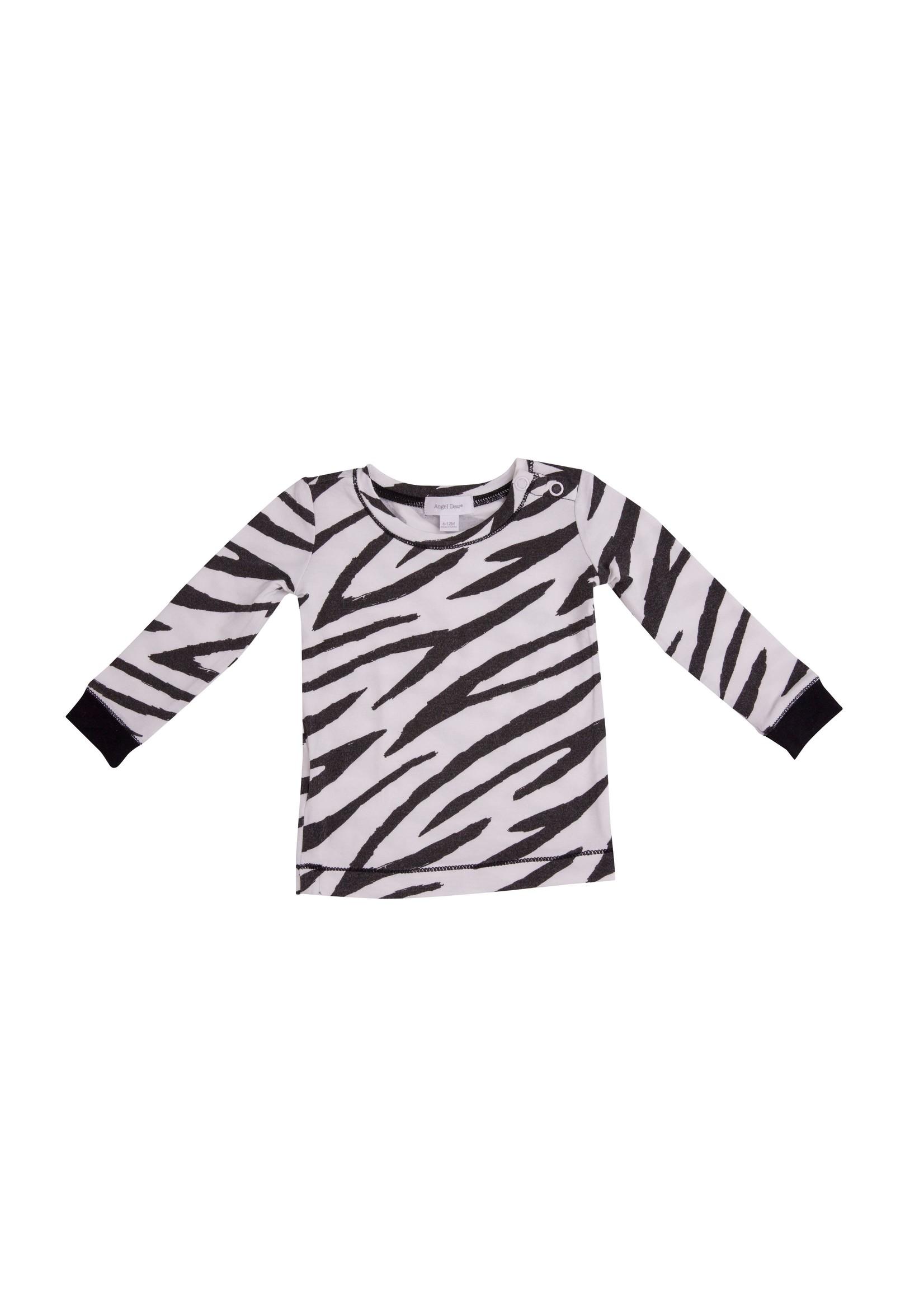 Angel Dear Zebra Print Lounge Wear Set