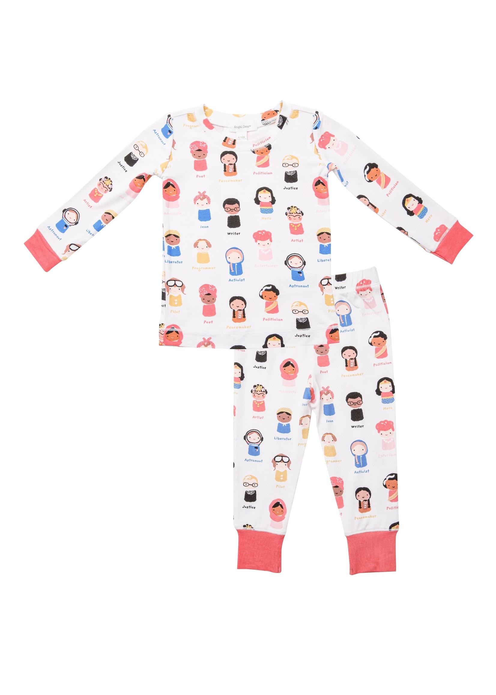 Angel Dear Baby Feminist Lounge Wear Set Multi
