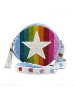 Tiana Designs Multi Stripe Star Purse