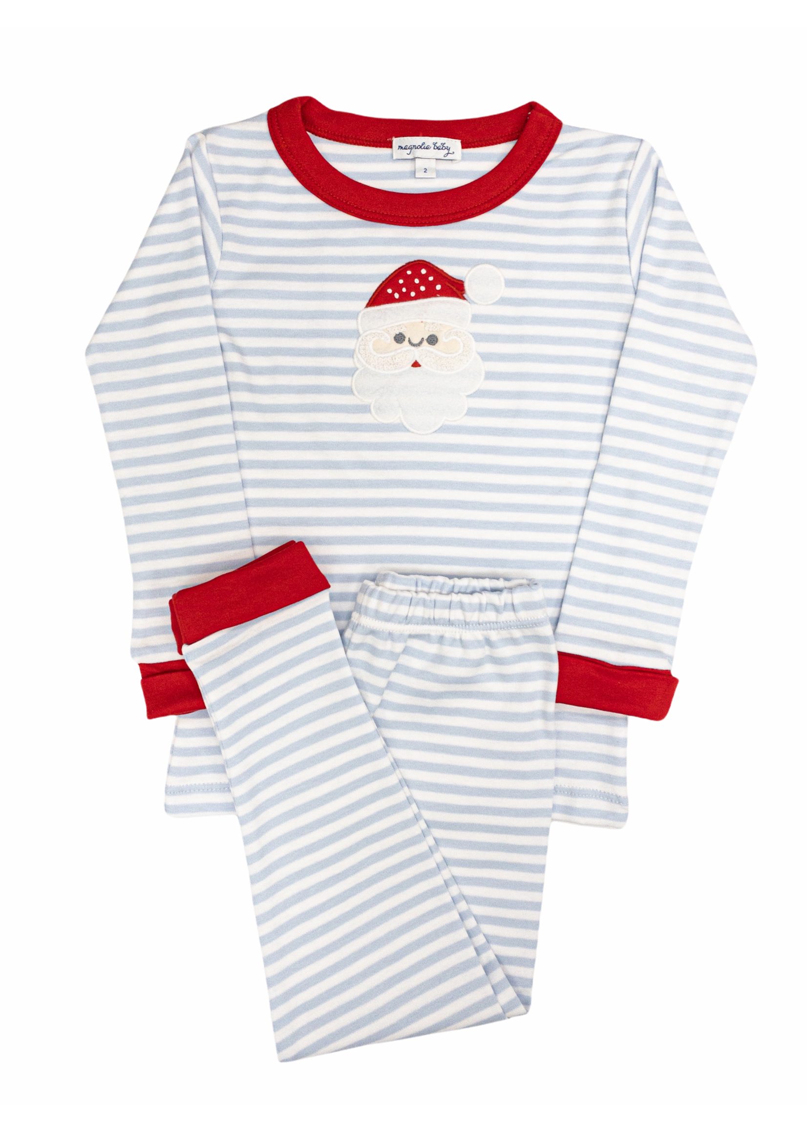 Magnolia Baby Santa Clause  Long Pajama