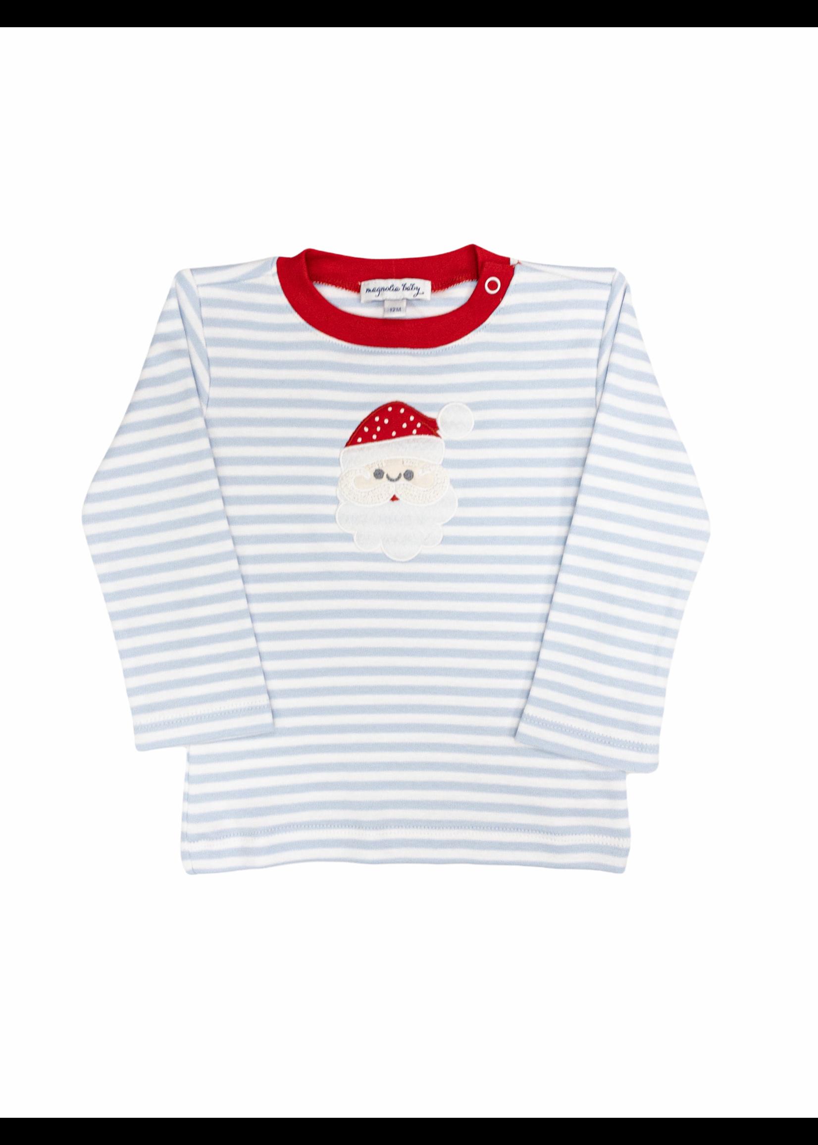 Magnolia Baby Santa Clause Long Sleeve Toddler T-Shirt