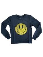 Prince Peter Prince Peter Vintage Smiley Sweatshirt - Black