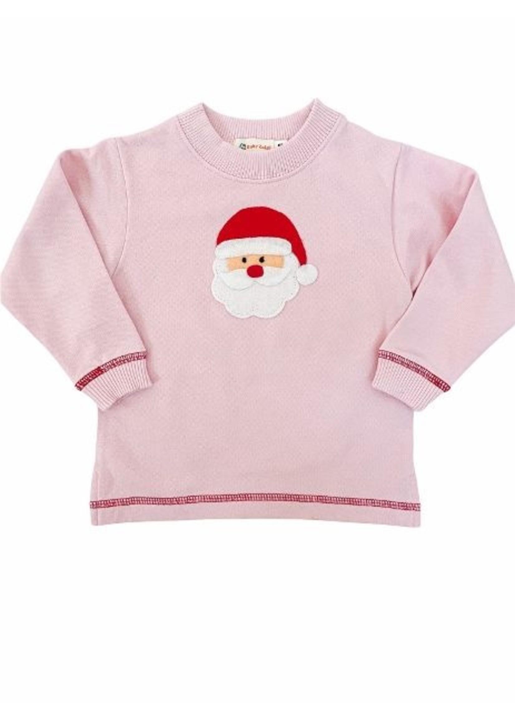 Luigi Santa Sweatshirt- Pink