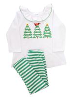 Bailey Boys Oh Christmas Tree Tunic Pant Set