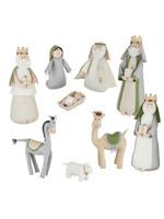 """Raz Imports 15"""" Nativity Neutral Felt"""