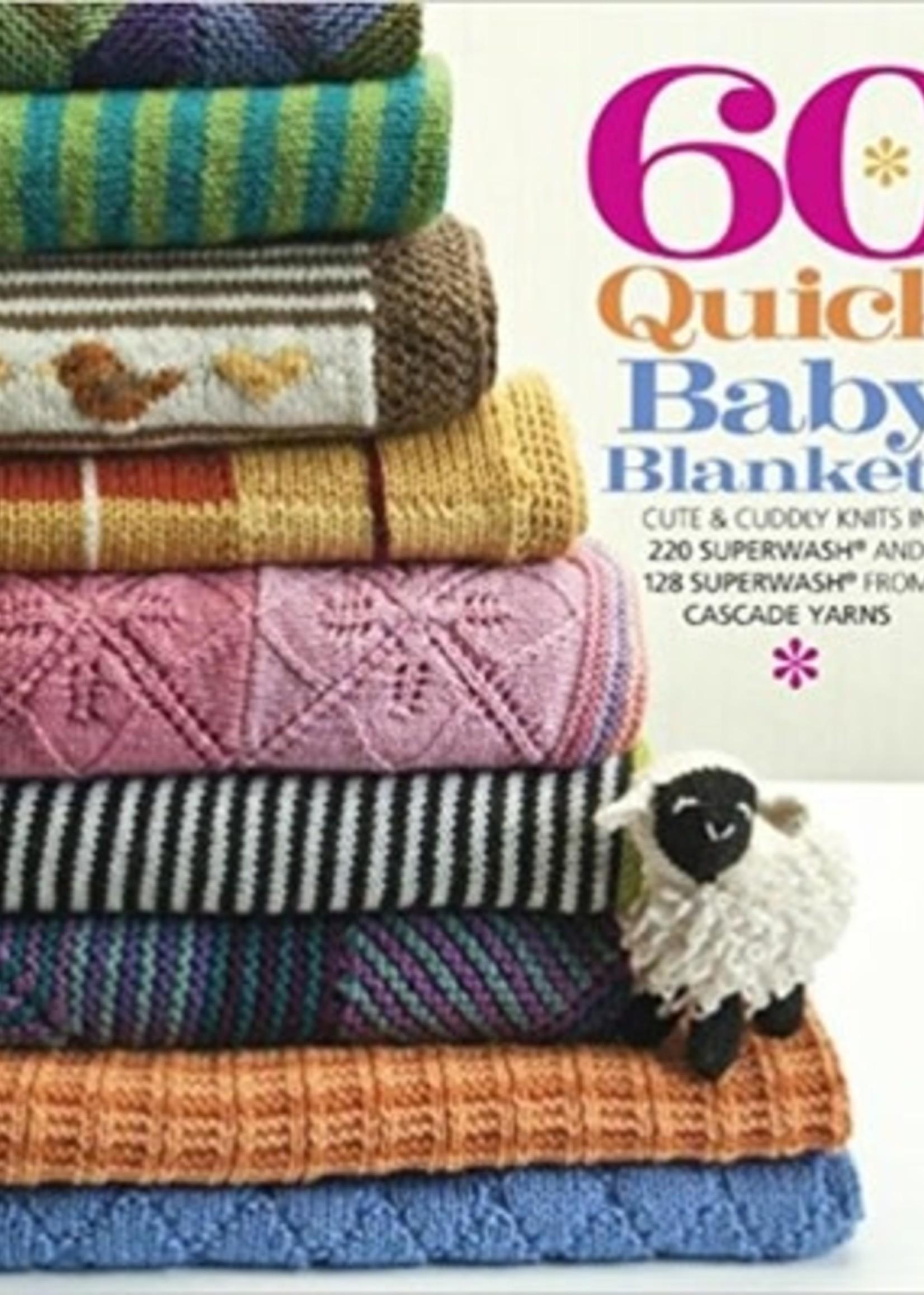 Cascade 60 Quick Baby Blankets