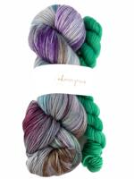 Akara Yarns Akara Yarns Sock Kit - Decay / Emerald