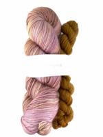 Akara Yarns Akara Yarns Sock Kit - Koko Loko Rose / Moccachino