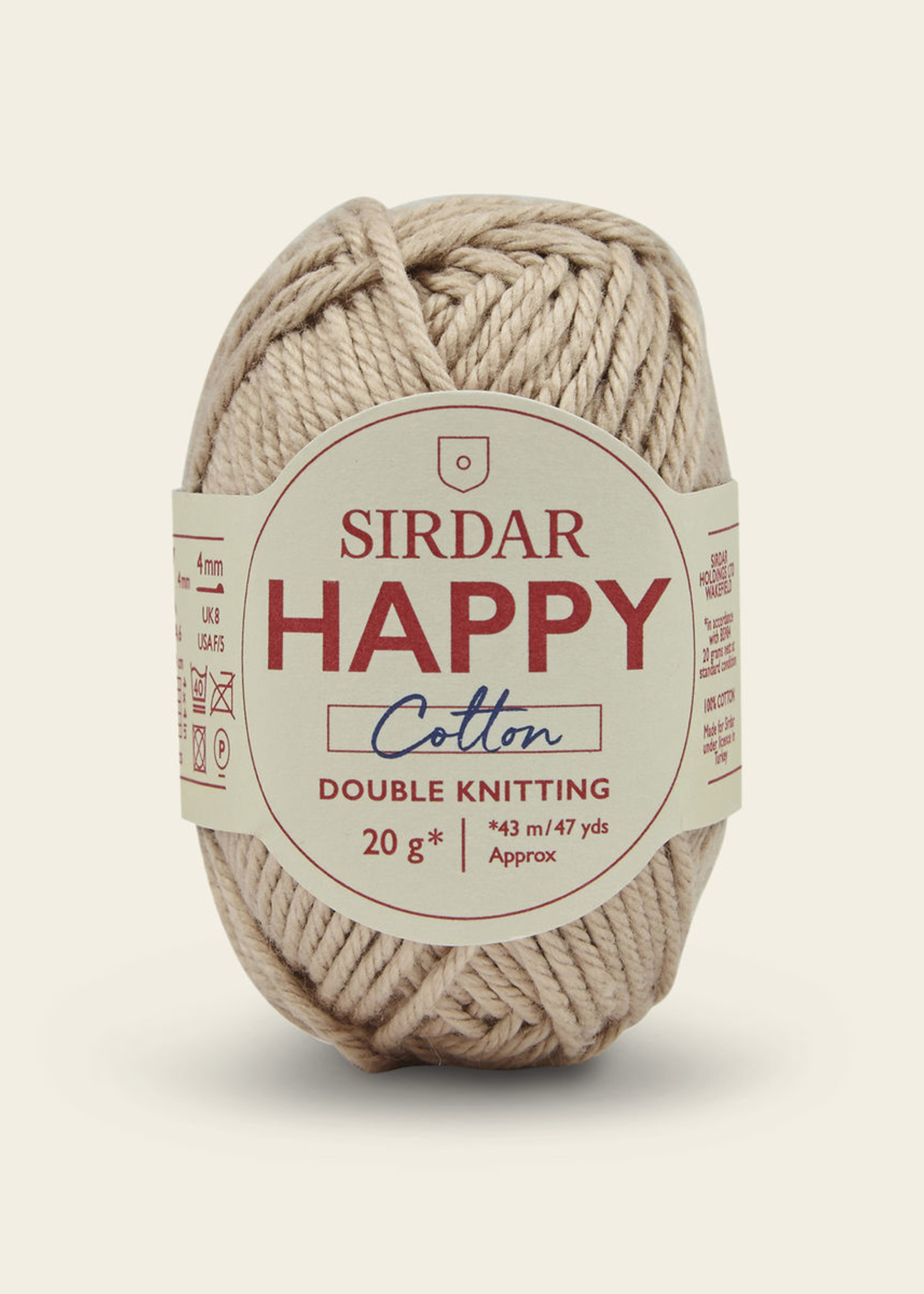 Sirdar Sirdar Happy Cotton #773 Sandcastle